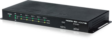 CYP QU-4-4K22 1:4 HDMI 2.0 and HDCP 2.2 distribution amplifier with 2K, 4K and 3D support product image