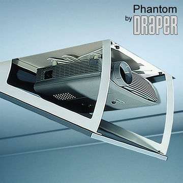 "Draper 300370 ""Phantom A"" concealed projector lift product image"