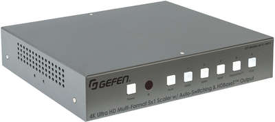 Gefen EXT-4K600A-MF-51-HBTLS 5:1x2 HDMI/DisplayPort/VGA Switcher Scaler product image