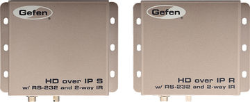 Gefen EXT-HD2IRS-LAN-RX 1:1 HDMI, RS-232 and IR over IP receiver product image