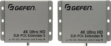 Gefen EXT-UHD-CAT5-ELRPOL 1:1 HDMI, RS-232, Ethernet and IR over twisted pair system product image