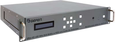 Gefen EXT-UHD600A-88 8x8 4K HDMI matrix switcher with Ultra HDMI support product image