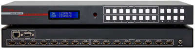 Hall Research HSM-88-4K-E 8x8 4K HDMI to HDMI Matrix Switcher with IR, RS-232, and IP Control product image