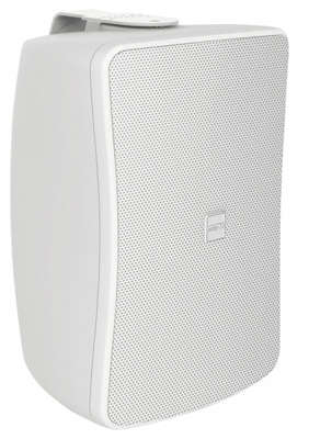 "Inter-M WS50T-WK 1×5"" 50W Passive 8Ohm/100V wall mounted speaker finished in white product image"