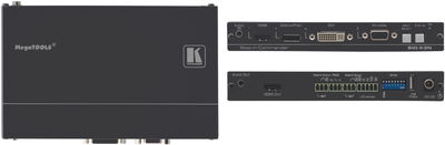 Kramer SID-X3N 4:1 Input Multi-Format Video over HDMI Switcher & Step-In Commander product image