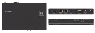 Kramer TP-576 1:1 DGKat HDMI 1.4/RS-232/ IR over Twisted Pair Transceiver product image