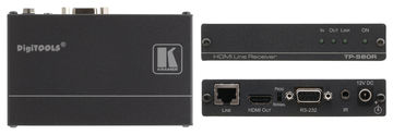 Kramer TP-580R 1:1 HDBaseT-Lite HDMI/IR/RS-232 Twisted Pair Receiver product image