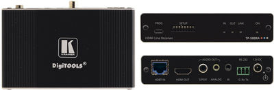 Kramer TP-580RA 1:1 4K60 4:2:0 HDMI Receiver with RS-232, IR & Stereo Audio Extraction over Long-Reach HDBaseT product image