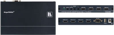 Kramer VA-4X 1:1*4 4-Channel 4K HDMI Extender and Toolbox product image
