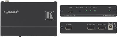 Kramer VM-2UHD 1:2 4K UHD HDMI Distribution Amplifier product image
