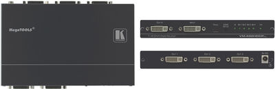 Kramer VM-400HDCPxl 1:4 4K 60Hz 4:2:0 DVI Distribution Amplifier product image