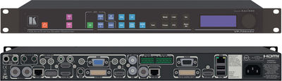 Kramer VP-798ASV 12:1x4 HQUltra 4K Presentation Scaler Switcher with audio product image