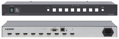 Kramer VS-81H 8:1 HDMI 1.4 Switcher with cable equalization and reclocking product image
