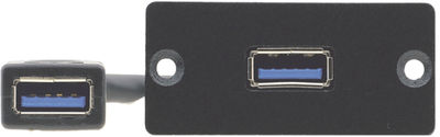Kramer WU3-AA 1 x USB 3.0 Type A pass through module for TBUS and Wall Plates product image