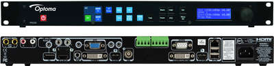 Optoma PS200 7:1*2 Presentation Switcher/Scaler with HDMI and DVI-D outputs product image