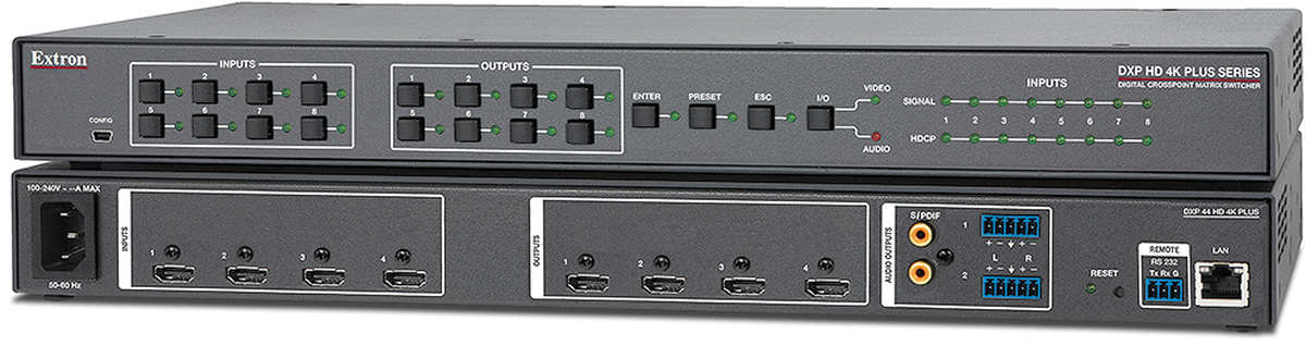 Extron DXP 44 HD 4K PLUS product image