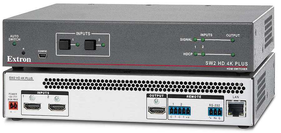 Extron SW2 HD 4K PLUS product image