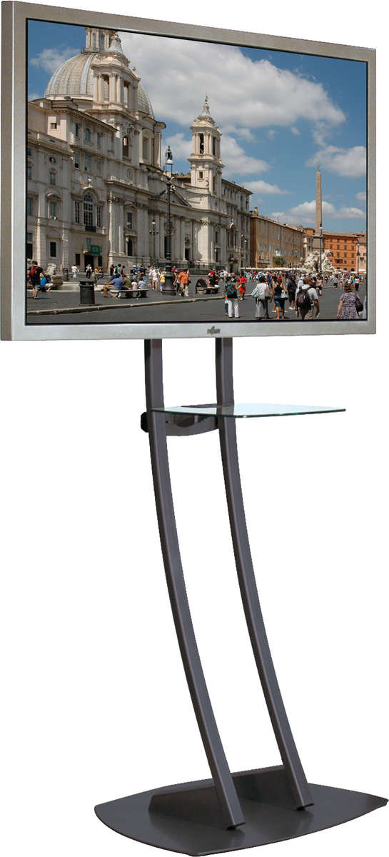 Unicol PA2 Parabella stand - designer high level stand for screens from screens 33 to 70 inches; VESA 200x200 to 600x400 product image