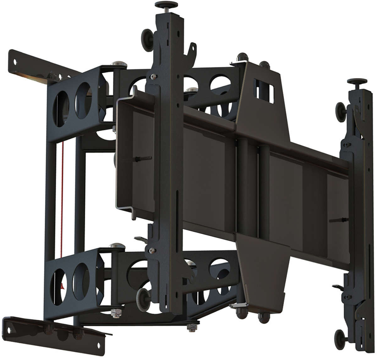 Unicol PLA4 Heavy duty double articulated swing our wall bracket for large format displays up to 130kg product image