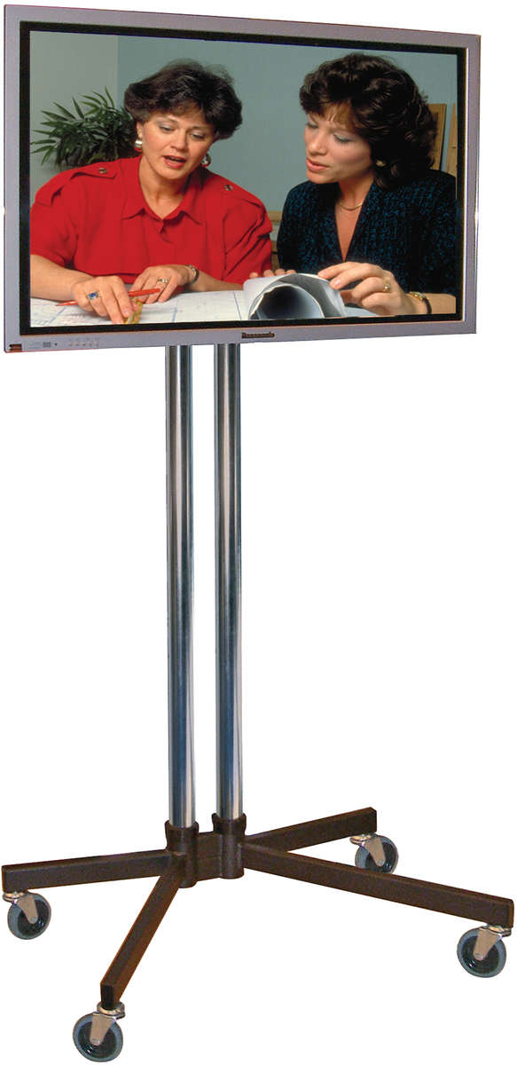 Unicol VS1000/K/VESA-L Trolley K base modular Trolley for screens 43-70 inch with VESA mount product image